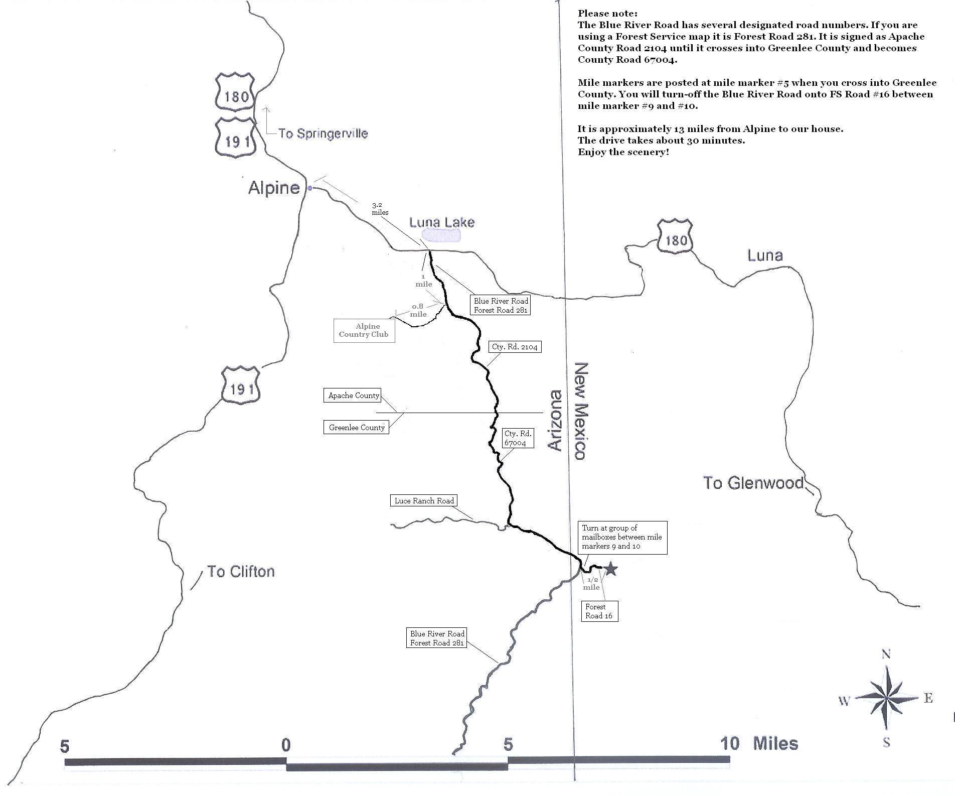 Find Us Blue River Wilderness Retreat